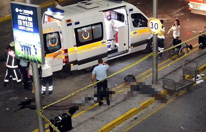 துருக்கி விமான நிலையத்தில் வெடிகுண்டு தாக்குதல்: 36 பேர் பலி