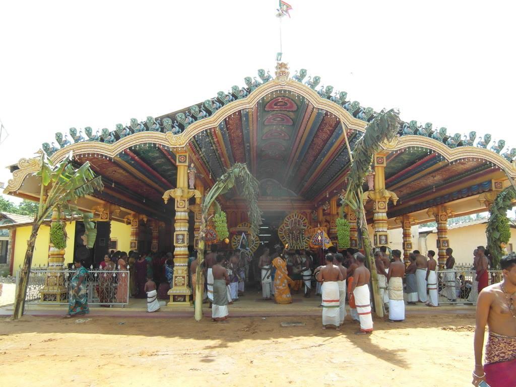 கந்தவனக் கடவை  ஆலயம் வரலாறு
