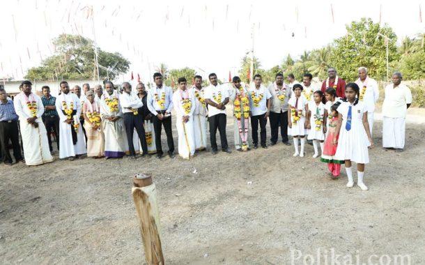 பொலிகை மண்ணில் நடைபெற்ற கலை விழாவின் ஆரம்ப நிகழ்வுகளின் புகைப்படங்கள்