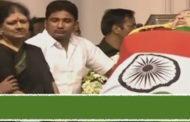 ராஜாஜி ஹாலில் வைக்கப்பட்டது மறைந்த முதல்வர் ஜெ.,வின் உடல்