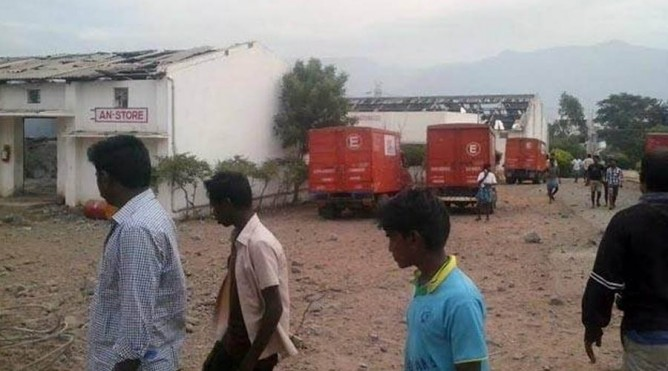 திருச்சி அருகே படுபயங்கர தீவிபத்து! 20 பேர் உடல் சிதறி பலியான பரிதாபம்